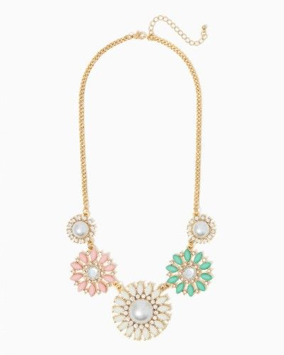 Feminine Floral Necklace