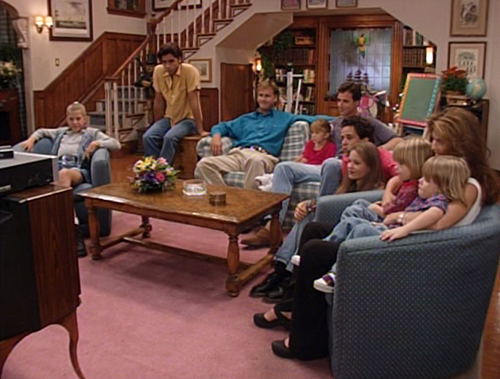 """The """"Full House"""" Victorian In San Francisco Today"""