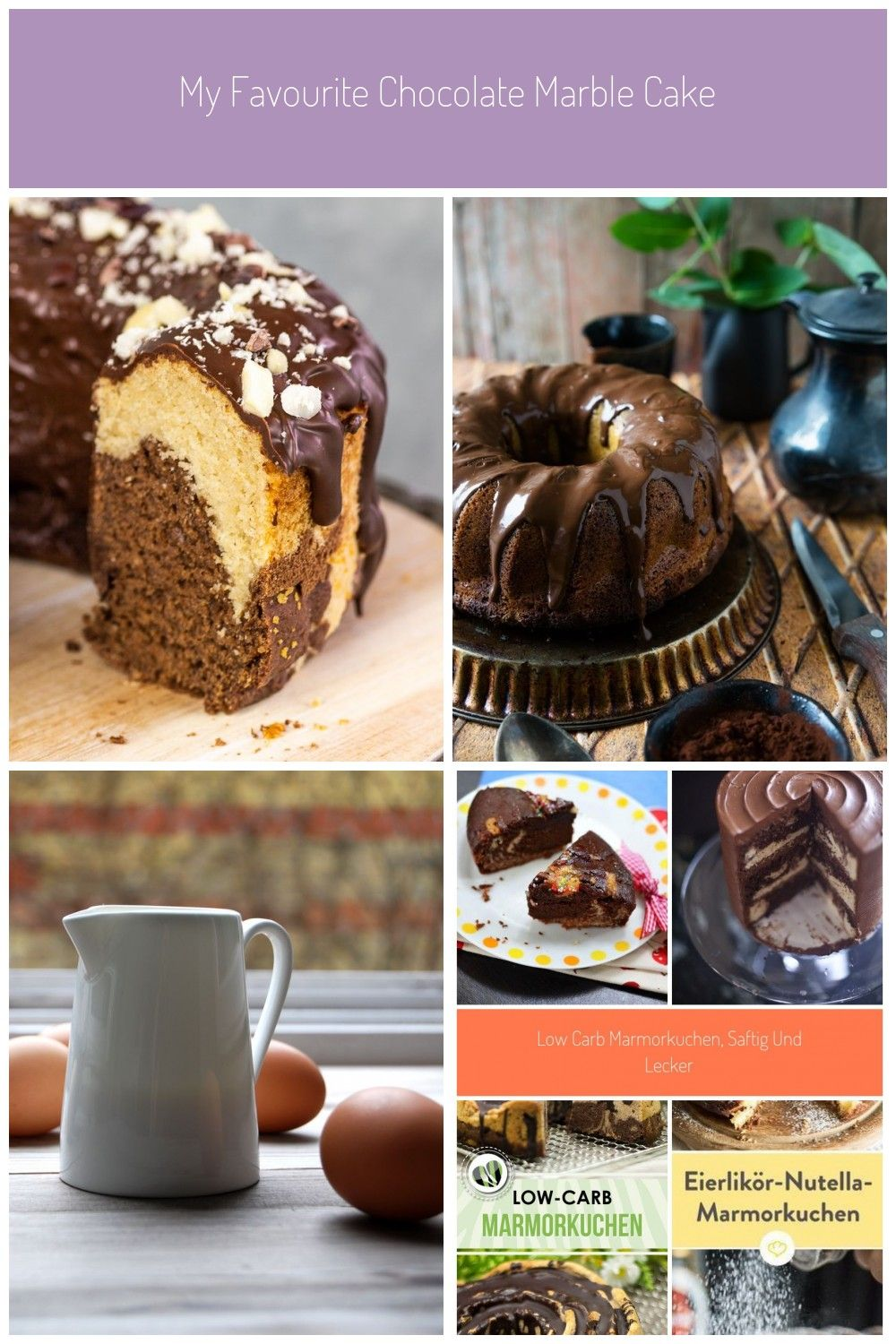 A Vegan Gluten Free Marble Cake That Will Delight Even Lovers Of Cake Classics Not Only Is It Fluffy Juicy And Super In 2020 Marmorkuchen Low Carb Marmorkuchen Lecker