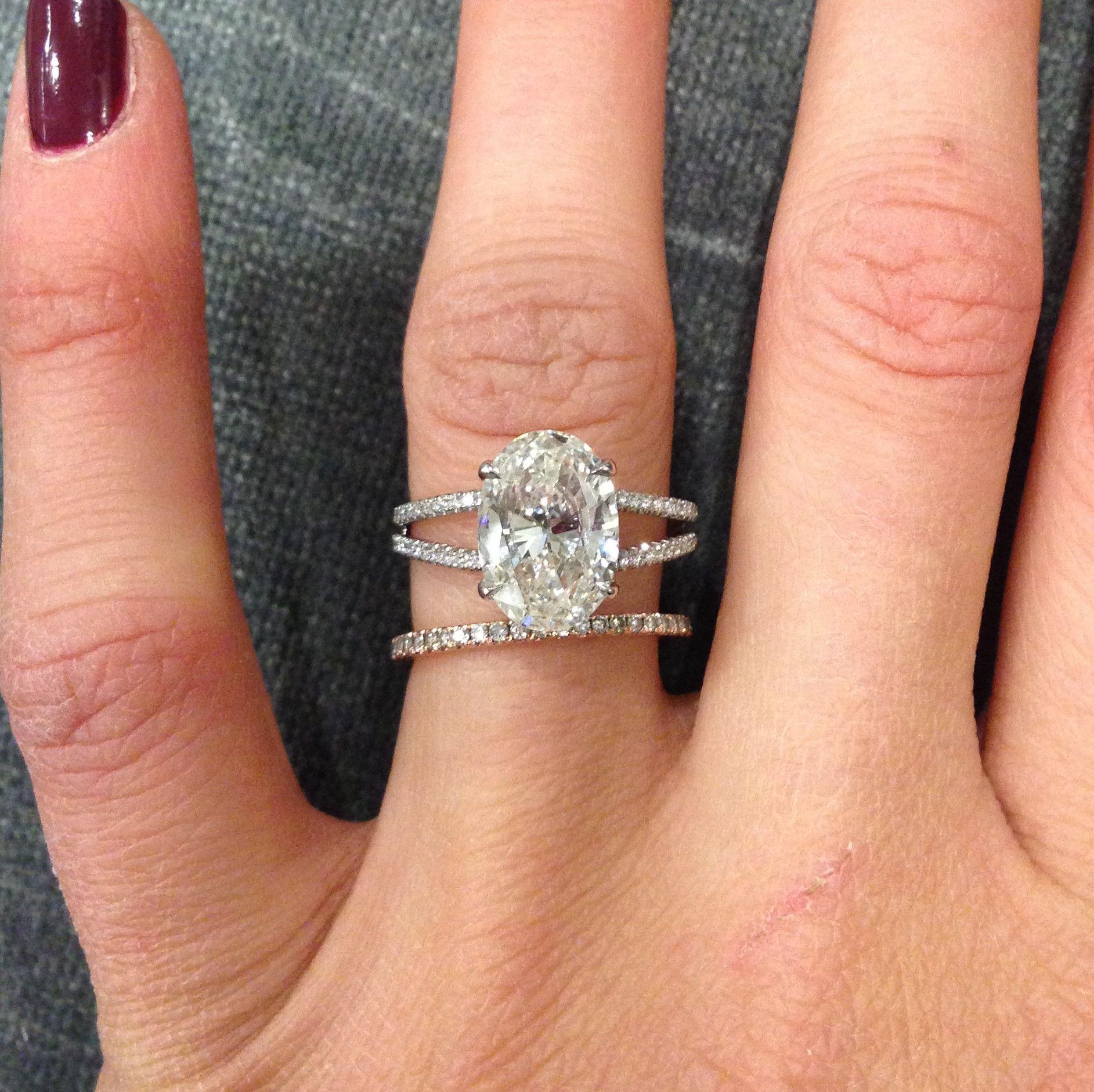 Oval diamond ring gallery u stephanie gottlieb fine jewelry big