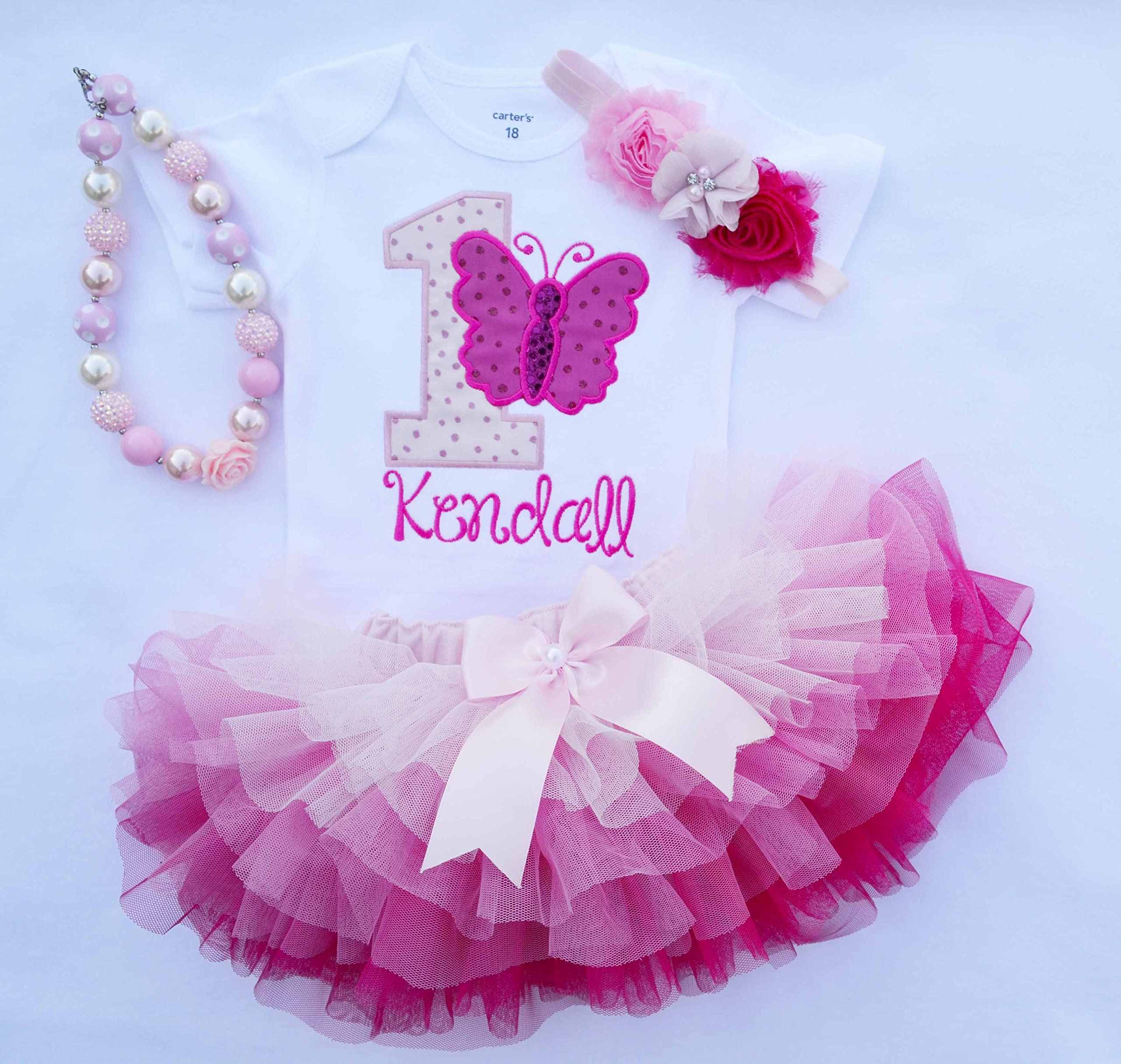 c6fa8c8f8 First Birthday Outfit Girl