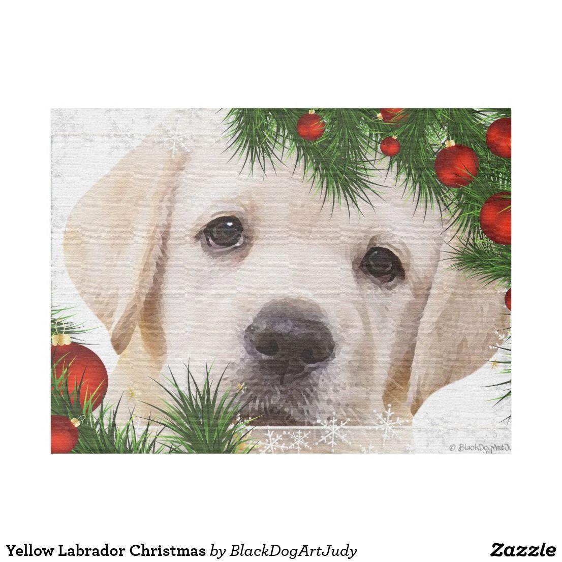 Yellow Labrador Christmas Fleece Blanket   Yellow labs   Pinterest ...