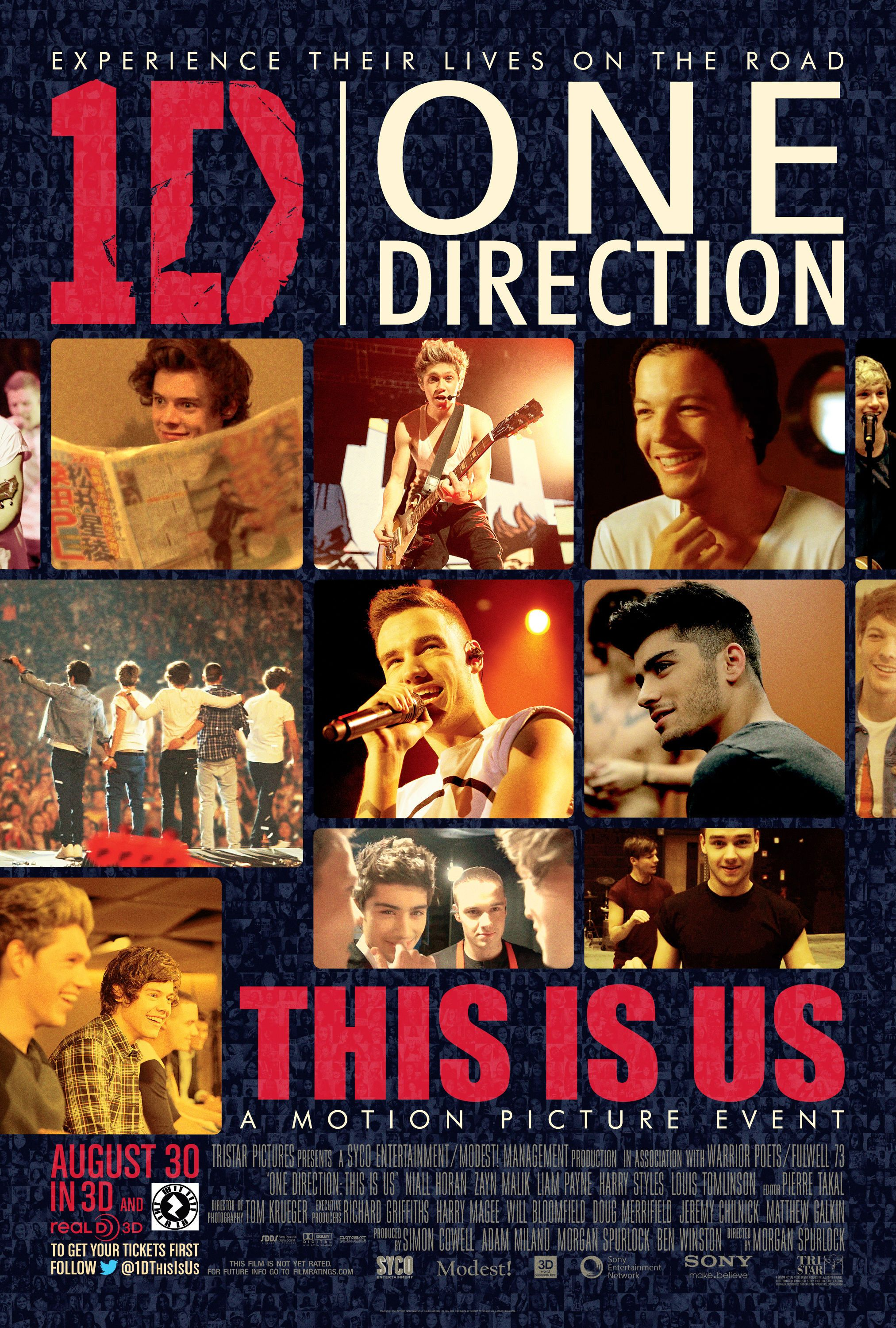 Fulwell 73 In Association With Syco Entertainment Tristar Pictures Presents Warrior Poets This Is Us Movie One Direction Posters One Direction Wallpaper