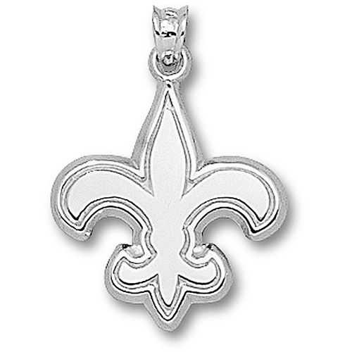 Hot Style Cheap LogoArt New Orleans Saints Sterling Silver Best For  Promotion Gift. http: