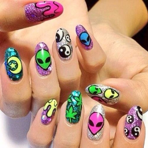 90s nails nail designs pinterest beauty secrets and makeup 90s nails prinsesfo Choice Image