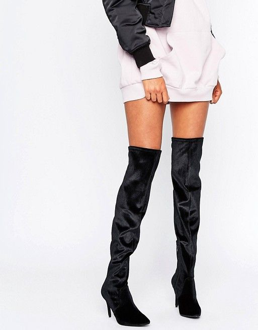 New Look Thigh High Heeled Boot nFLfp6qm0L
