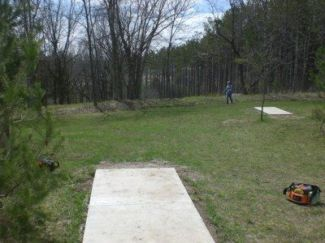 great disc golf course    zobel park in green lake wi   Green Lake     great disc golf course    zobel park in green lake wi