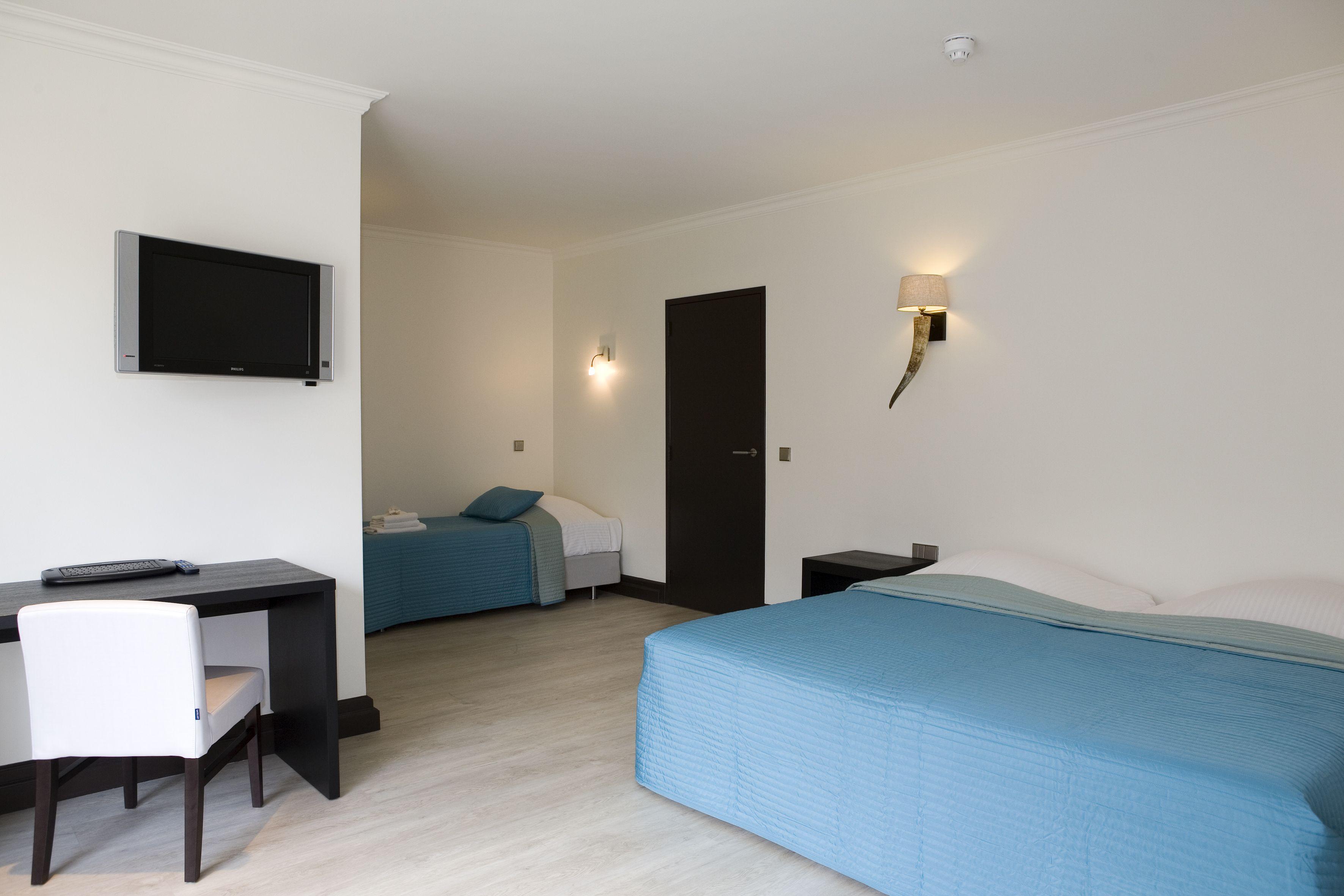 Van der Valk Hotel Arnhem Driepersoons Comfort kamer