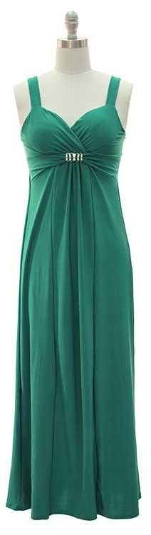 GREEN SWEETHEART BANDEAU MAXI SPANDEX SUNDRESS,BEACH, CRUISE-S,M,L,XL ONLY $19.99 w/ FREE shipping!