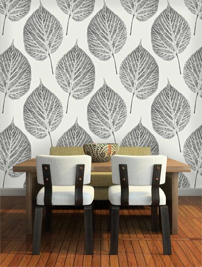 Leaf Momentum Volume 2 Harlequin Wallpaper