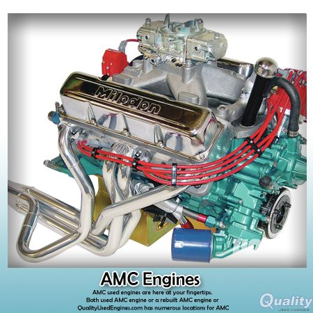 #QualityUsedEngines AMC Engines the machine-shop anyway, consider having its 7⁄16-inch head bolt holes drilled and tapped to ½ inch.