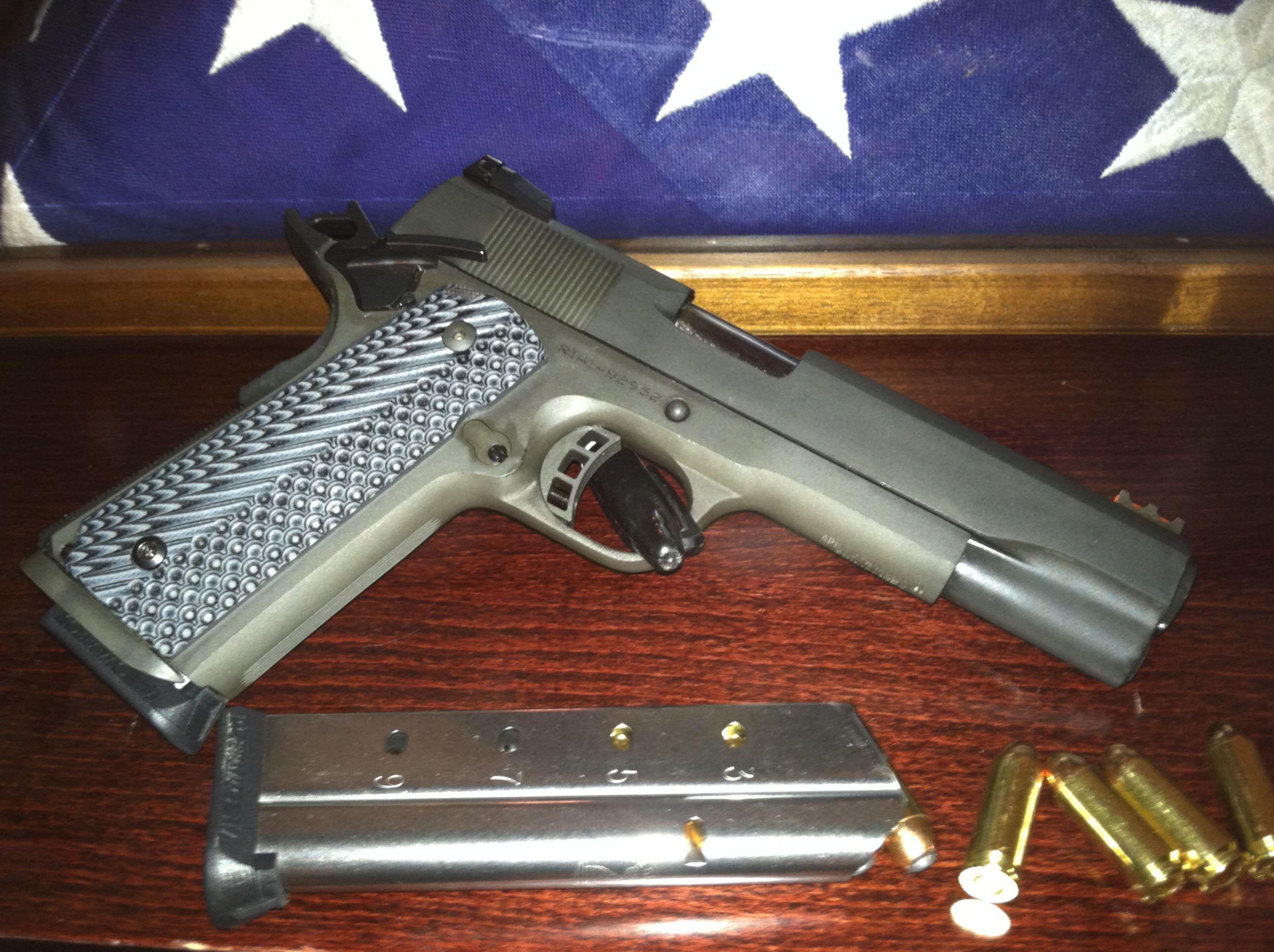 Rock Island 10mm 1911 | Guns | Guns, Hand guns, Weapons