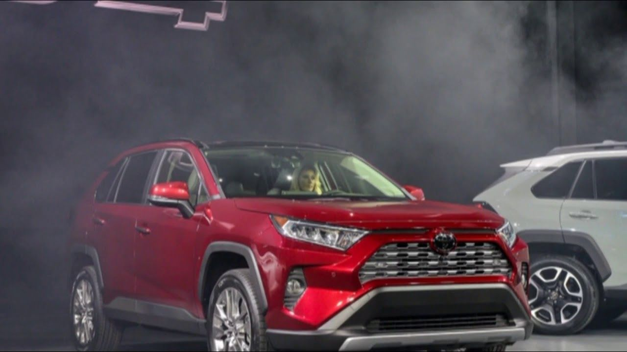 LOOK! New Toyota RAV4 2019 Takes In car Technology To The