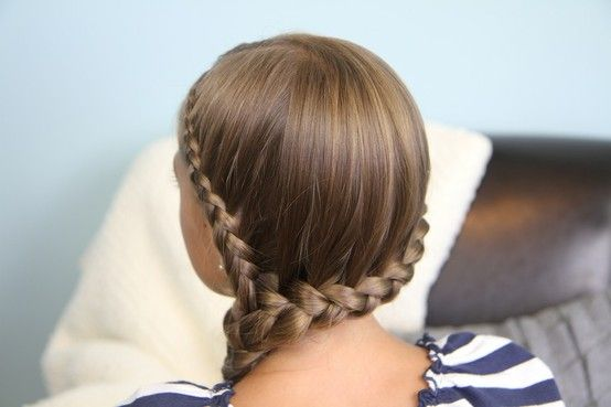 Cute Braid Hairstyles Inspiration The Cute Braided Hairstyles For Kids  Best Medium Hairstyle  Braid