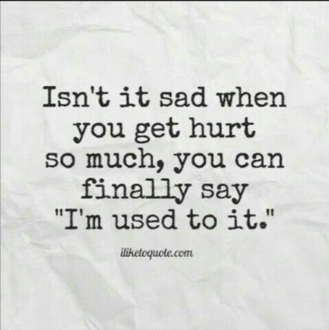 Isnu0027t It Sad Whn You Get Hurt So Much, You Cn Finally Say u0027Iu0027m - why quotation are used