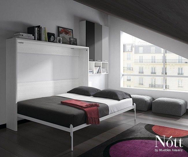 Matrimonio Bed Info : Cama abatible matrimonio abierta by mobles cambrils