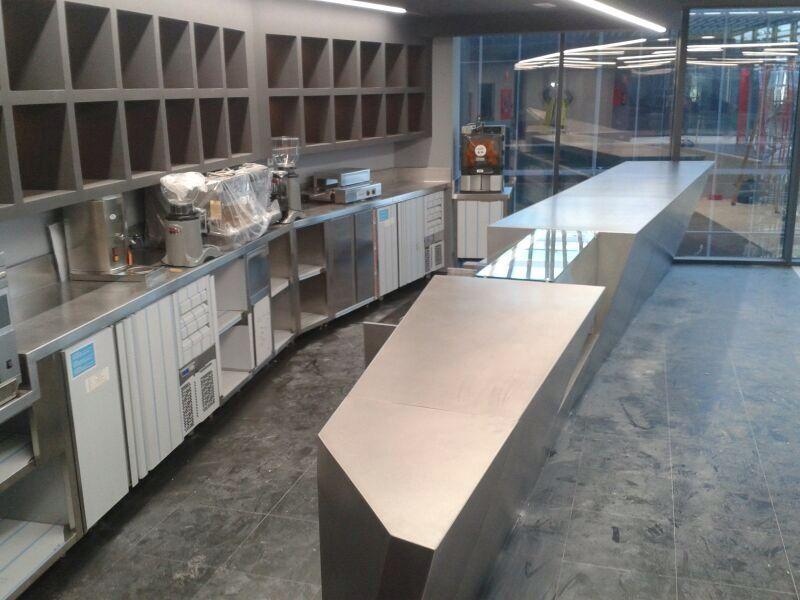 Cocinas industriales para restaurantes y hoteles dise o for Diseno oficinas industriales