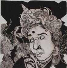 Expression 1 by Anupama Dey | ArtZolo.com in 2020 | Grey ...