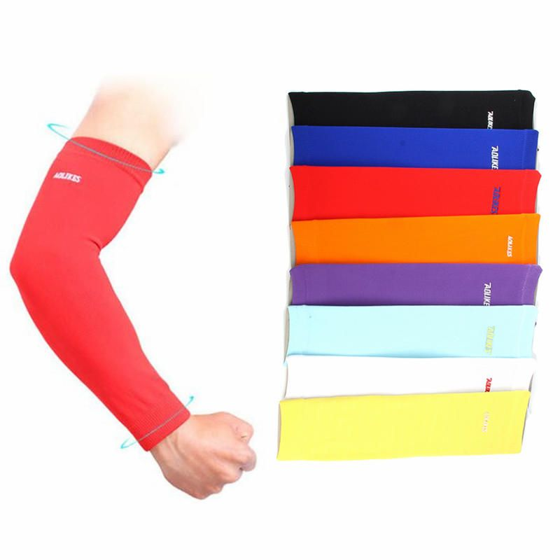 d43cb3c26d IPRee® 1Pcs Sports Arm Sleeves Warmers UV Protector Bicycle Cycling  Volleyball Compression Armband