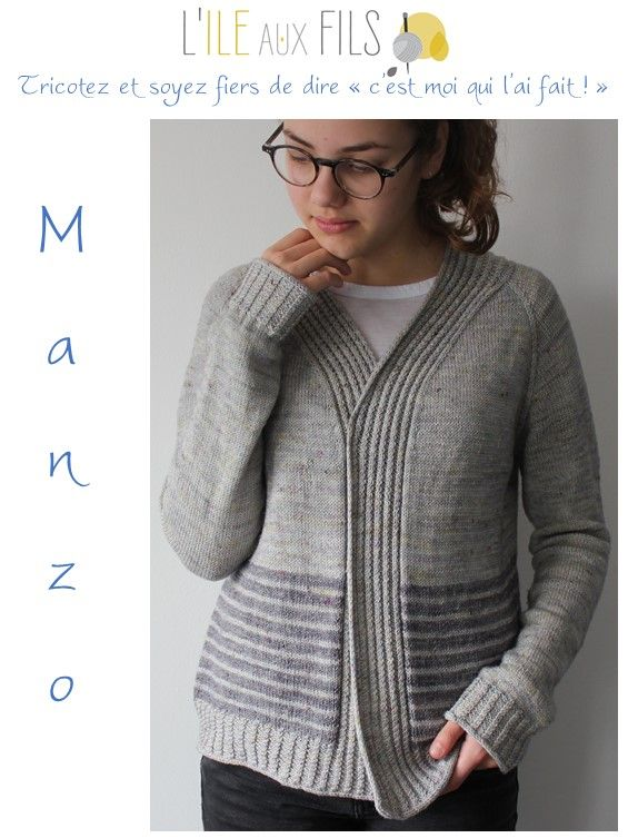 Photo of Gilet tricot MANZO