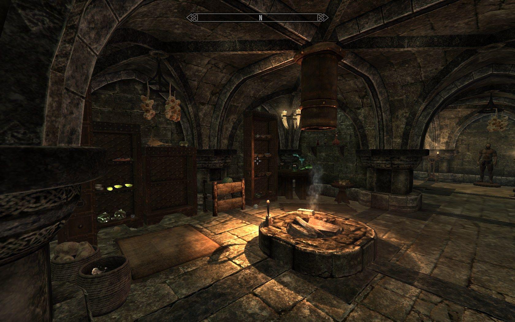 Elderscrolls Skyrim Interior Decor Ref In 2019 Fantasy