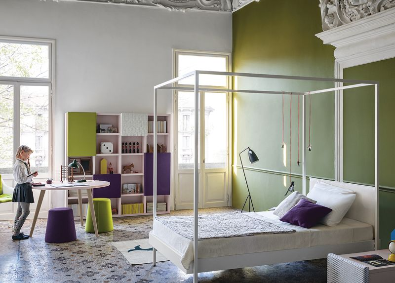 Camerette Nidi ~ Nidi kap modern girl s bed contemporary children s beds at mood