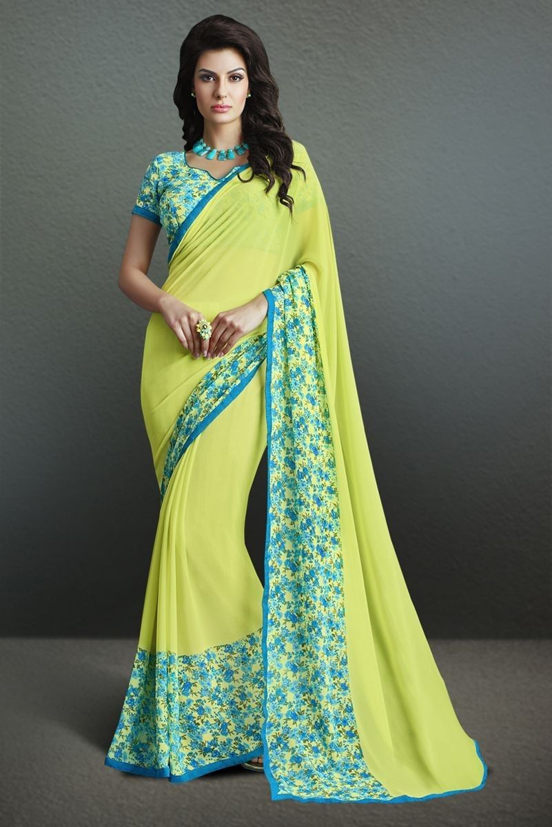 fff750a459 Bollywood Style Sarees Collection: That Will Reveal Your Gorgeous ...