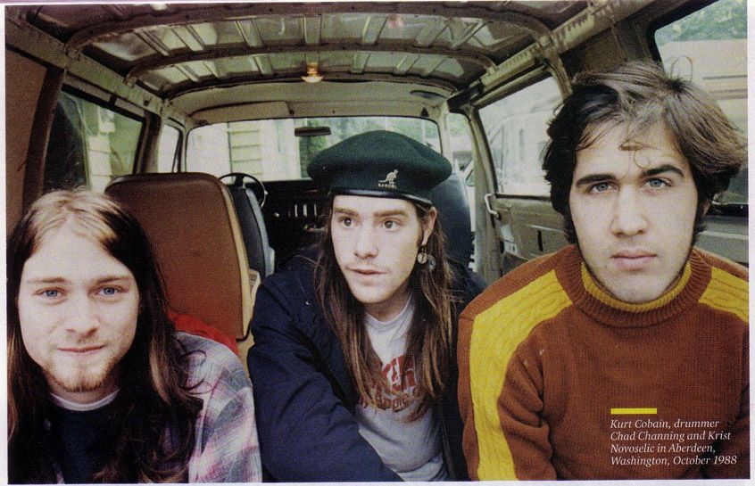 NIRVANA in October 1988 by Tracy Marander