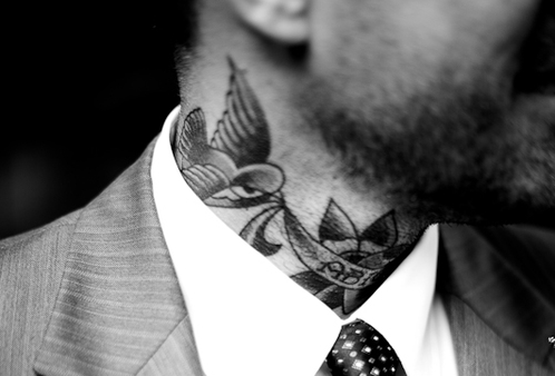 there is something undeniably sexy about this tattoo ...
