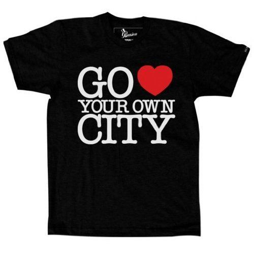 Reason Clothing Mens Go Love Your Own City Tee B ($28)