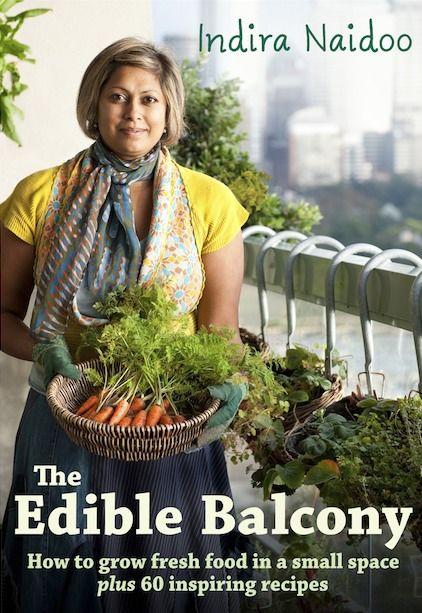 Photo of edible balcony garden
