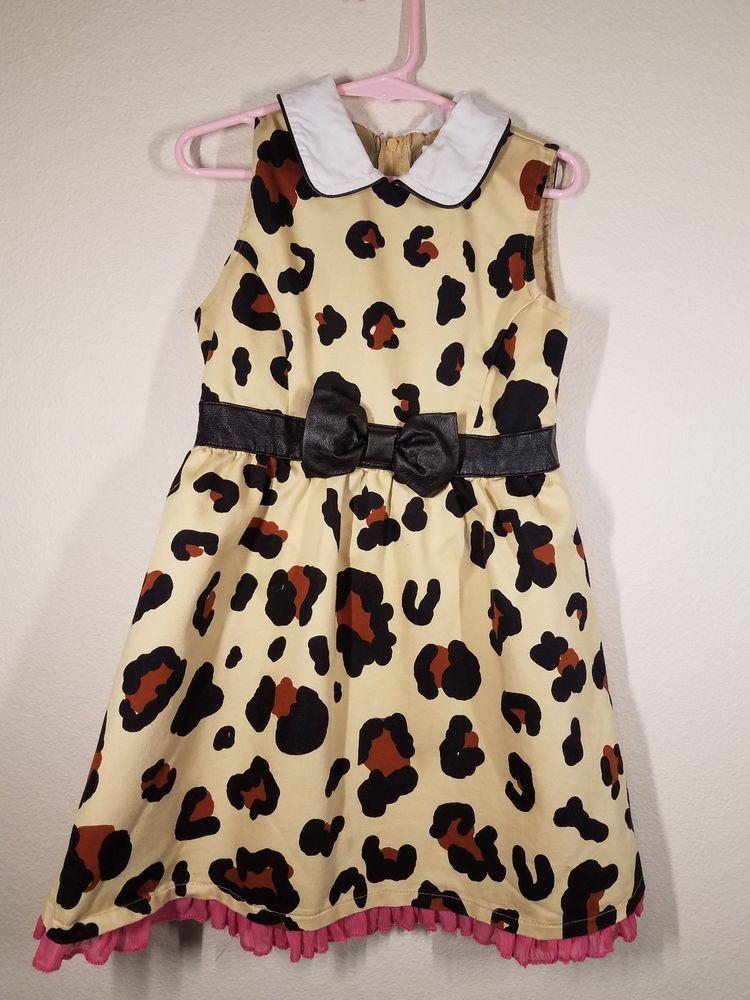 29c60785984d Harajuku Mini For Target Leopard Print Sleeveless Dress 4 5 XS  fashion   clothing  shoes  accessories  kidsclothingshoesaccs  girlsclothingsizes4up  (ebay ...