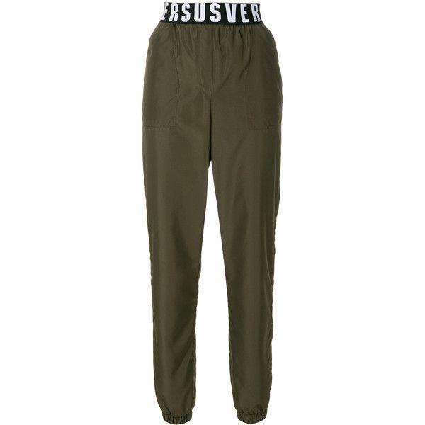 logo waistband sweat pants - Green Versus zLEtArlh6