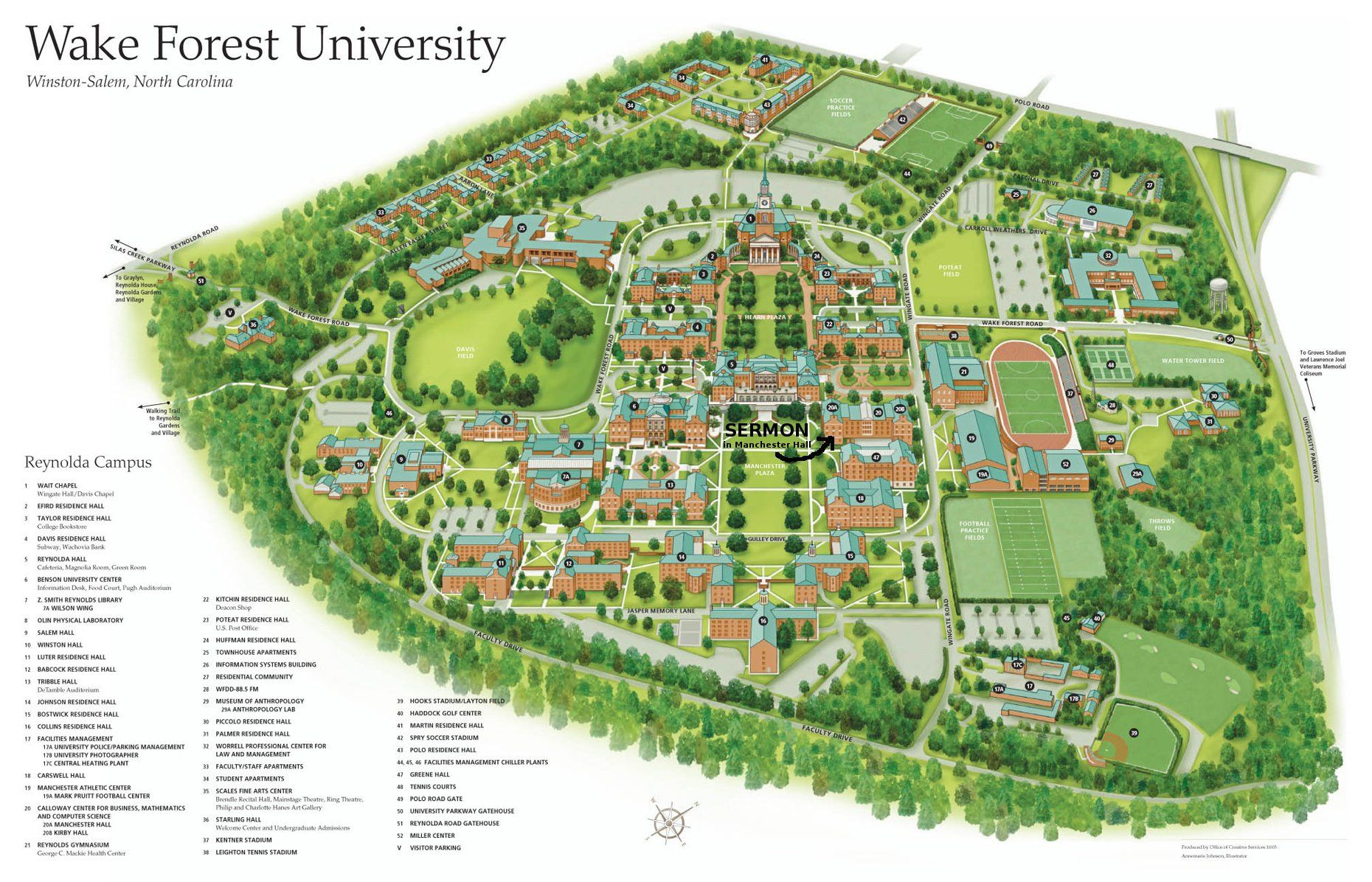 Pin By Irem Sabuncu On University University Campus Map Wake