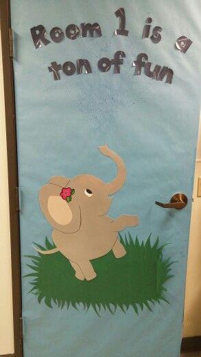 Elephant Classroom Decor ~ Elephant classroom door parade of elephants