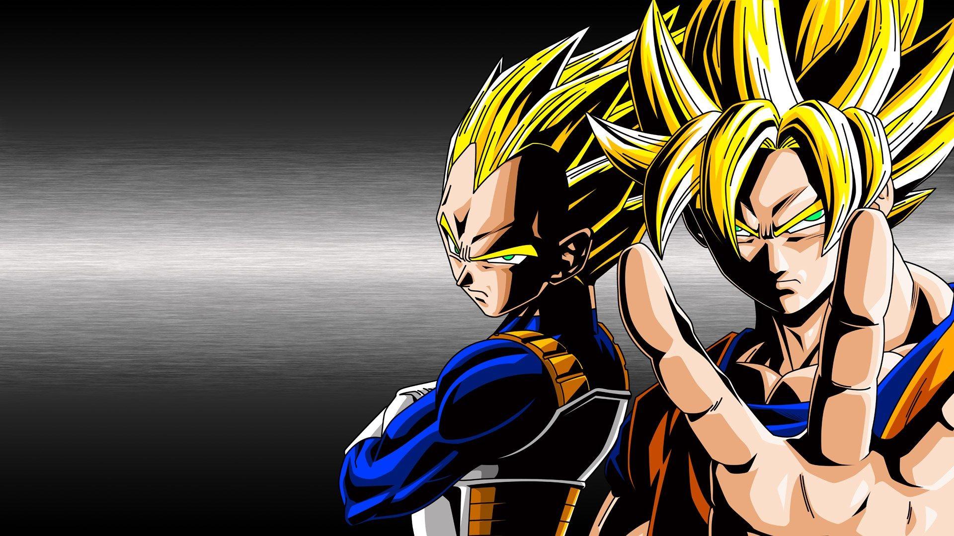 Goku Fase 10000 Vs Vegeta Fase 10000: Dragon Ball Z Vegeta Super Saiyan Wallpaper Hd