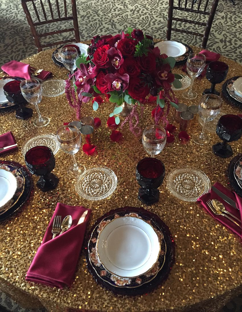 Marsala Wedding Ideas Inspired by Pantone's Color of the