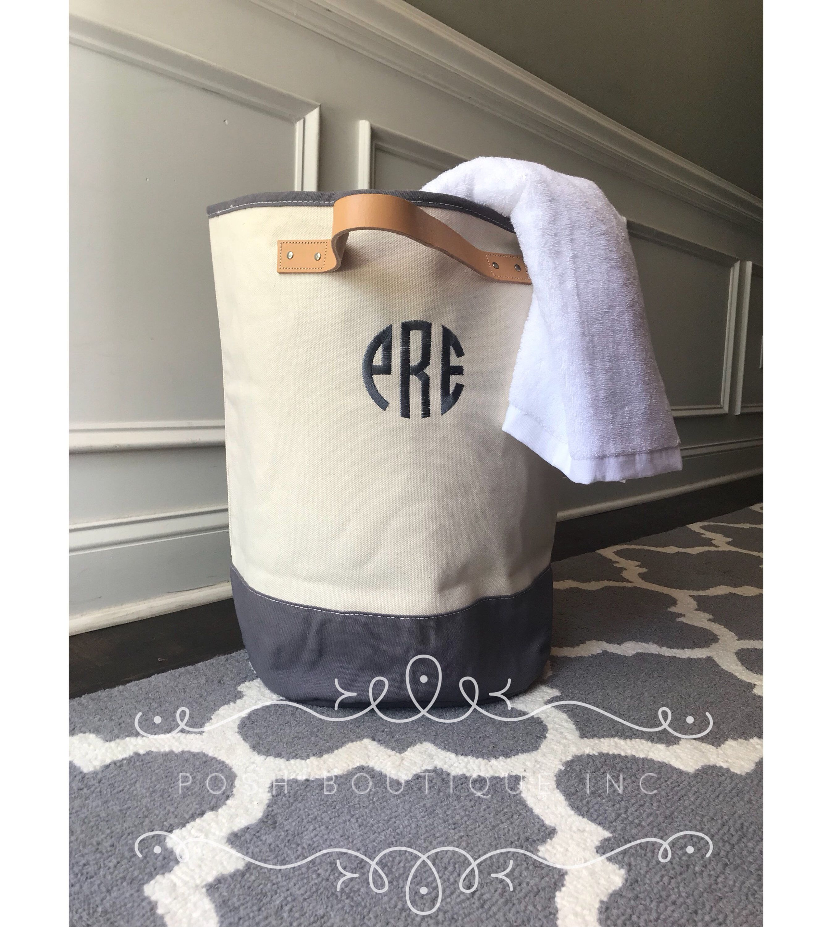 Monogram Laundry Hamper Laundry Bag Dorm Life Must Have Laundry Tote Bag Graduation Gifts Discounts On