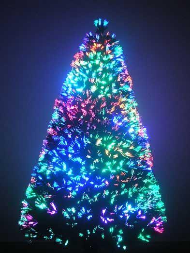 ☀ Tree Sale ☀ 7 ft LED - Fiber Optic Christmas Tree | December ...