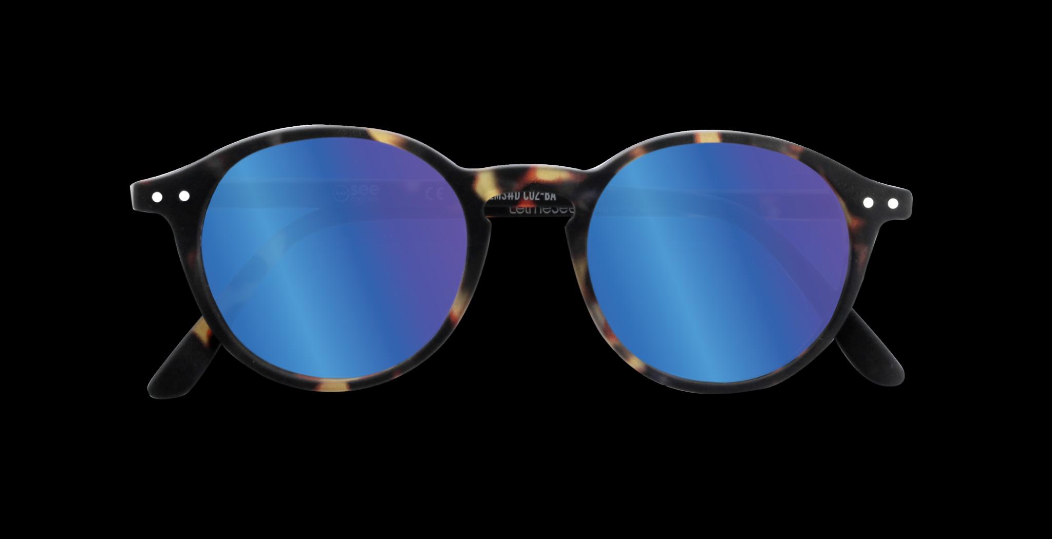 LetmeSee Sun C Sonnenbrille navy blue soft +0,0
