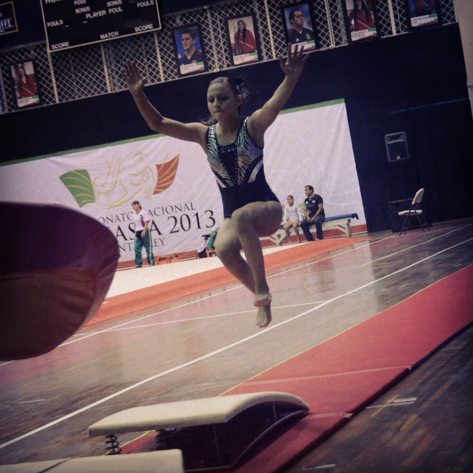 Competencia en salto