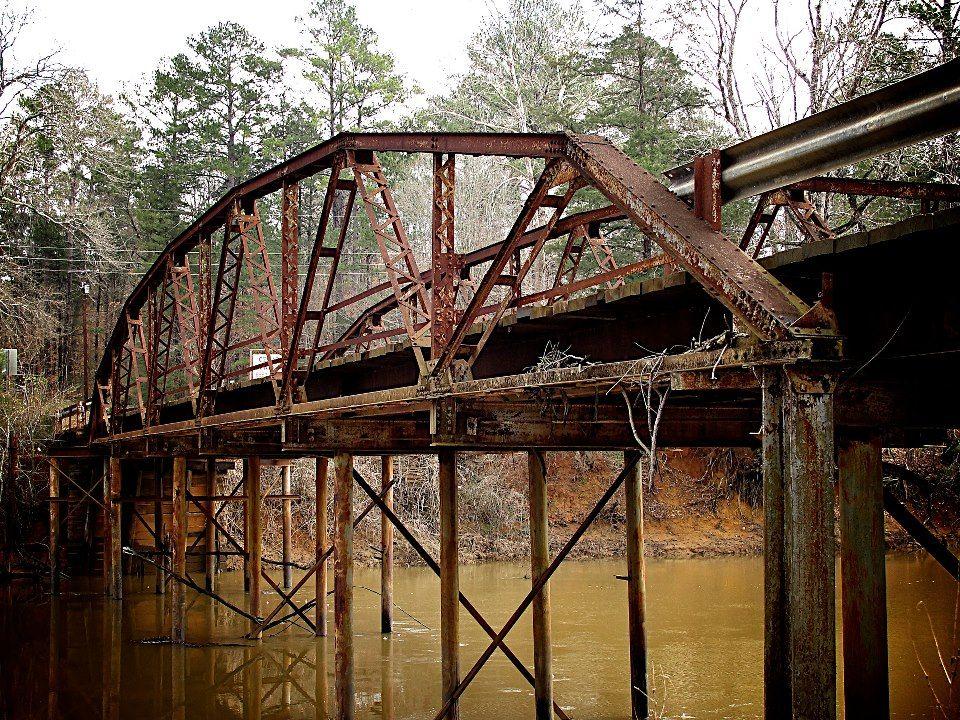 Goodman bridge 1929 nacogdoche old bridges ghost world