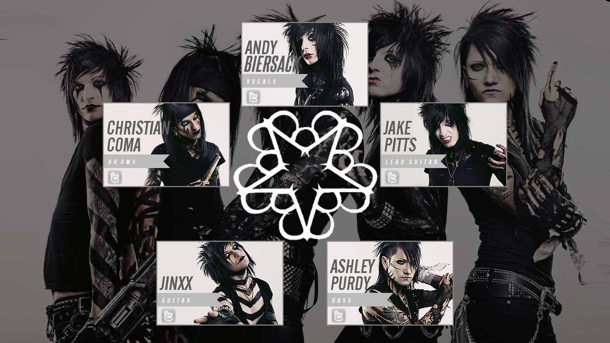 Black Veil Brides Band Wallpaper By Musicbboy909 On Deviantart Black Veil Brides Members Brides Band Black Veil Brides