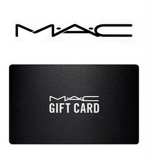mac gift card to get my makeup done for fashion show christmas