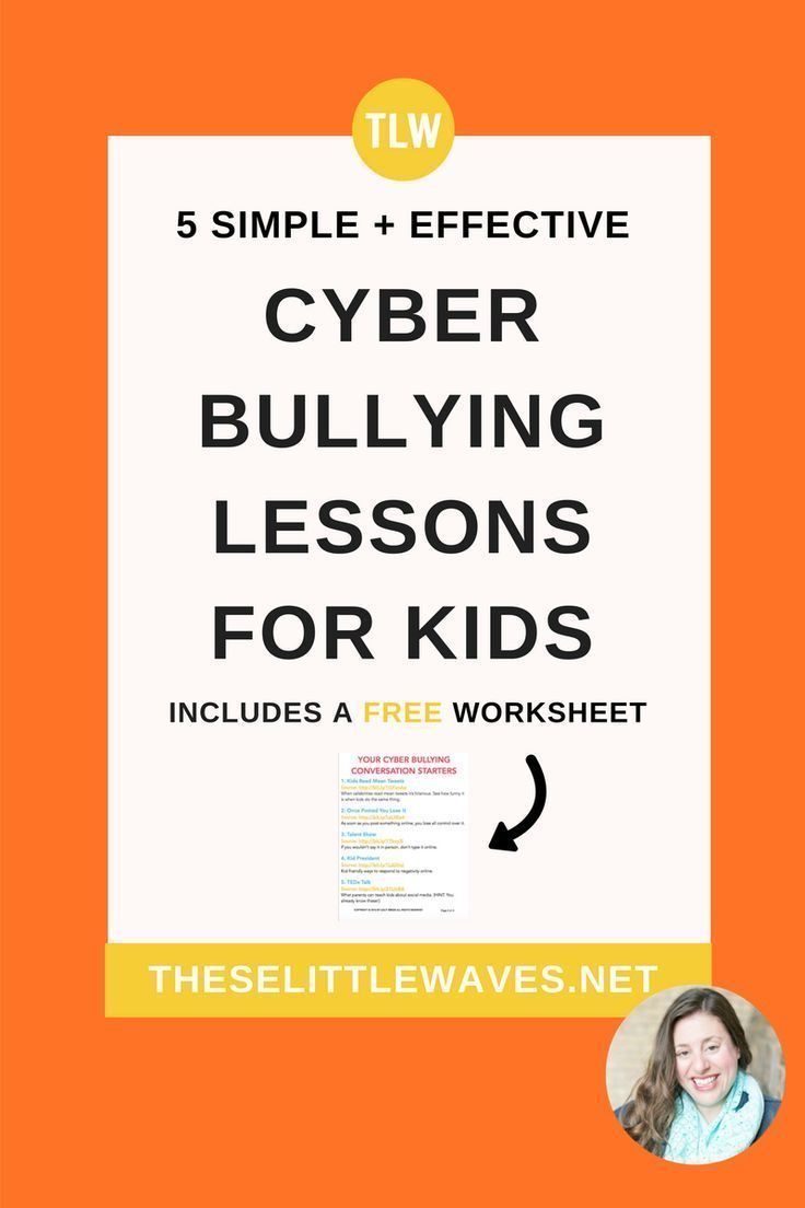 worksheet Cyber Bullying Worksheets cyber bullying lessons for kids 5 simple ways to bring up the topic of