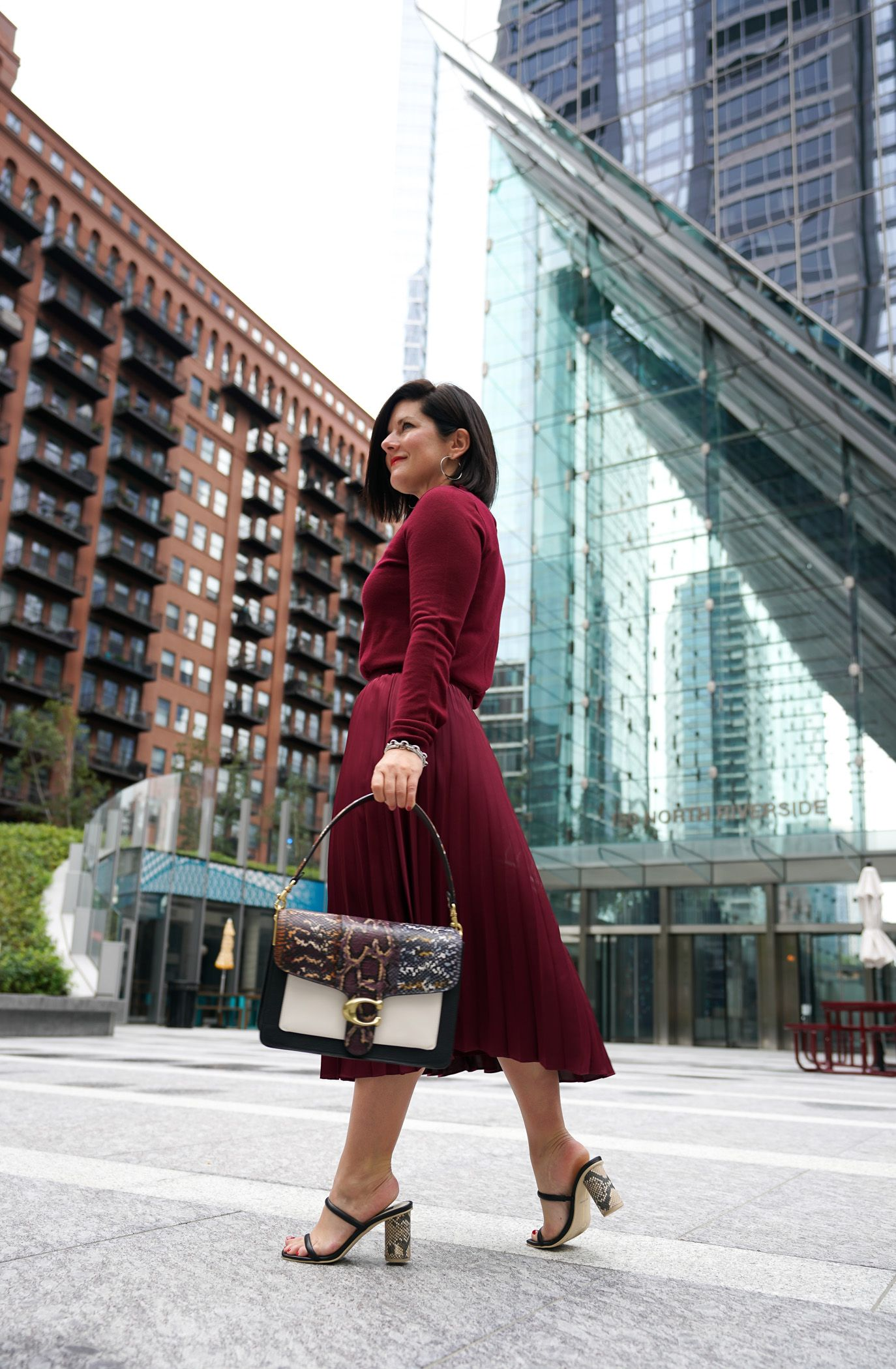 How to Style A Pleated Midi Skirt This Season