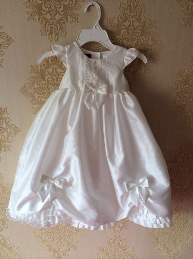 2014 New High Quality Baby Girl Christening Gown Wedding Dress