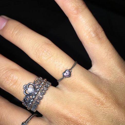 833ea03c7 Spirited Heart Ring, Pink CZ | PANDORA Jewelry US | Liz's picks in ...