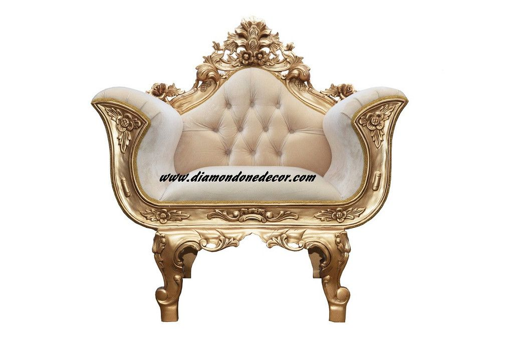 Fabulous Baroque French Reproduction Louis Xv Rococo Chair