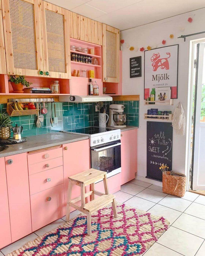 8 colorful kitchen cabinets hippie home decor home home decor on kitchen decor hippie id=71594